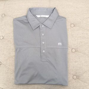 MEN: ✅ Travis Mathew Polo Size Large Grey